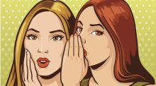 Why is gossip so central to female friendships?