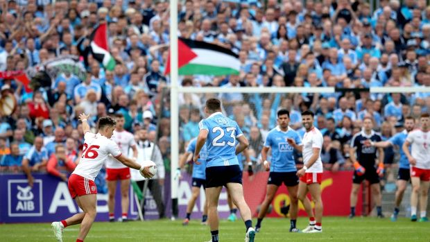 Dublin and Tyrone are already assured of their places in the last four regardless of the result in Omagh.
