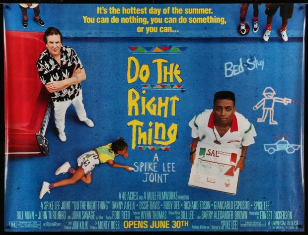 New this week: the original poster art for Do the Right Thing (1989)