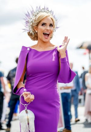 Pam Richardson from Lower Salthill, Galway, at Ladies Day at the Galway Races Festival. Photograph: James Crombie/INPHO