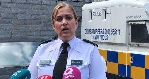 PSNI Supt Melanie Jones: 'This reckless, criminal behaviour poses an unacceptable danger to members of the public, police officers and indeed those who are engaged in this activity.' Photograph: Rebecca Black/PA Wire