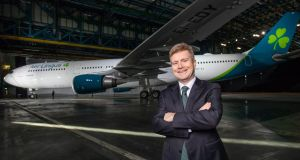 "Aer Lingus chief executive Sean Doyle described the airline's performance as ""solid in a challenging market""."