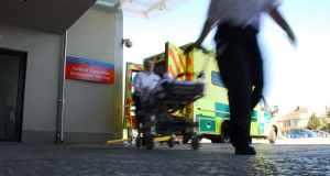 The teenager was rushed to Cork University Hospital by ambulance. File photograph: Patrick Hogan/Provision