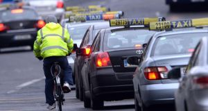 Minister for Transport Shane Ross said there were mechanisms in place to cover liability of cyclists 'although they may indeed not prove adequate in all cases'. Photograph: Cyril Byrne