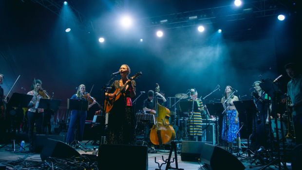Lisa Hannigan at All Together Now in Waterford