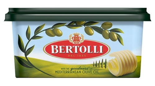 "Bertolli's Olive Oil spread uses far more rapeseed, palm and sunflower oils ""in varying proportions"" adding up to 39 per cent"