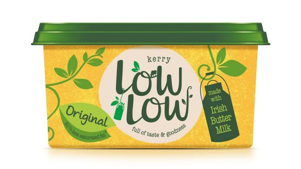 Kerry's Low Low Original Spread: saying it is 'made from buttermilk' seems like a stretch, however, given that reconstituted buttermilk makes up just 3 per cent of the ingredients