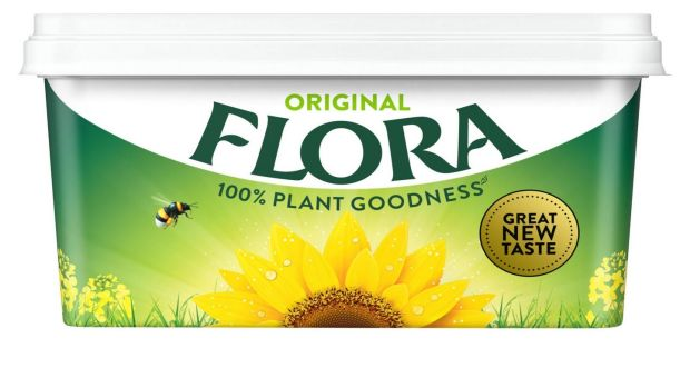 the old favourite Flora has a reassuringly short list of ingredients including sunflower, rapeseed, palm and linseed oils
