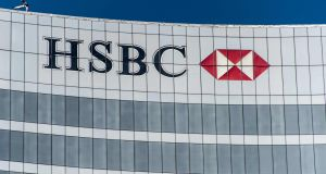 HSBC said  its global commercial banking unit head Noel Quinn will be interim chief executive