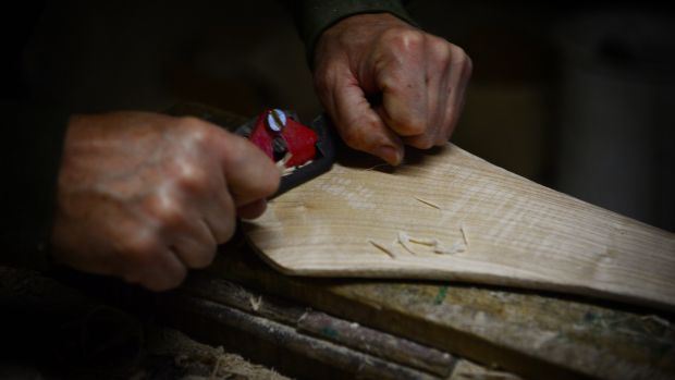 Every hurl is different, with different areas of counties favouring different shapes. Photograph: Bryan O'Brien/The Irish Times