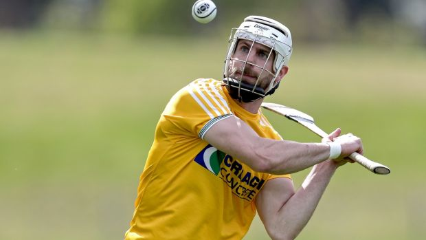 Antrim's Neil McManus travels to Kilkenny to have his hurls made. Photograph: Laszlo Geczo/Inpho