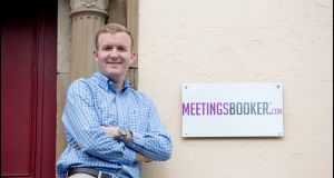 MeetingsBooker.com founder and chief executive Ciaran Delaney.