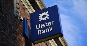 Ulster Bank reported its operating profit slumped to €26m in the first half of the year from €100m a year earlier. Photograph: Nick Bradshaw/The Irish Times