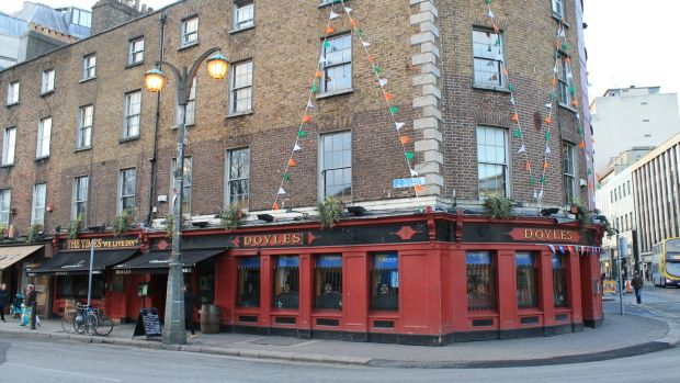 Doyle's pub - a short walk from the madness of Temple Bar.