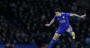 Harry Maguire:  became the world's most expensive defender  when Manchester United signed him for a reported fee of €86m from Leicester City.  Photograph: Adrian Dennis/AFP/Getty Images