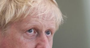 "British prime minister Boris Johnson: Downing Street officials have said it is ""laughable"" to think that he would stand aside if MPs vote down the government. Photograph: Simon Dawson/EPA"