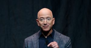 Amazon founder Jeff Bezos is still the richest person on the planet despite losing $3.4bn on Monday