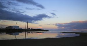 Proposals to reclaim lands on Sandymount Strand and the Tolka Estuary drew opposing political opinions from Dublin councillors. File photograph: Nick Bradshaw/The Irish Times