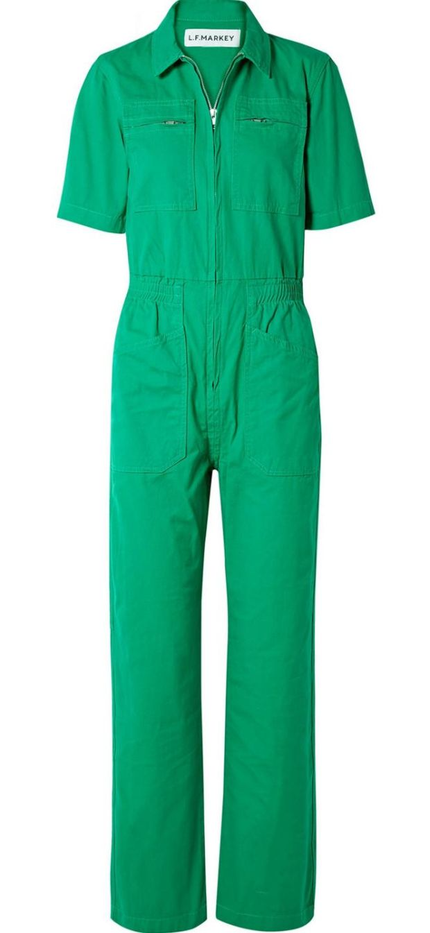 Danny - green boiler suit, €129 by LF Markey at netaporter.com