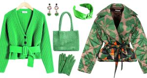Green scene: pieces from & Other Stories, Uterqüe, Missguided, Paula Rowan and Dries Van Noten
