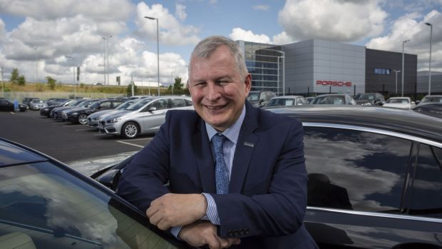 "Gavin Hydes, chief executive of Joe Duffy Motors Group: ""We've grown in a soft market, and we've done well in the bust."" Photograph: Crispin Rodwell"