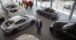 "Gavin Hydes, chief executive of Joe Duffy Motors Group:  ""Every time we sell a car, I'm collecting between €10,500 and €11,000 worth of tax.""  Photograph: Crispin Rodwell"