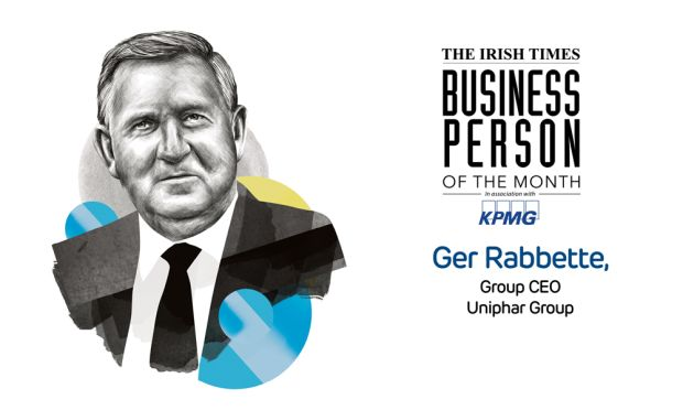 Irish Times Business Person of the Month: Ger Rabbette