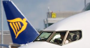 The decision to strike won support from 80% of directly employed Ryanair members of Balpa.  Photograph: PA Wire