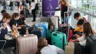 The problems started when people tried to check in for the first flights of the day and lasted for about 12 hours. Photograph: Reuters