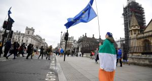 The economies of Northern Ireland and the Republic are very different in many respects. Photograph: Toby Melville/Reuters