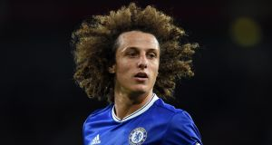 Arsenal are set to complete the signing of David Luiz from Chelsea. Photo: EPA