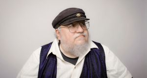 George RR Martin. Photograph: Colby Katz/New York Times