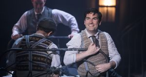 Eoin Cannon as Frank McCourt in Angela's Ashes The Musical.