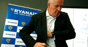 Departure: Outgoing Ryanair COO Peter Bellew. Photograph: Ralph Orlowski / Reuters.
