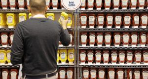 Kraft Heinz's shares fell 13 per cent on Thursday morning, taking the decline for the year to 38 per cent. Photograph: Scott Morgan/Reuters