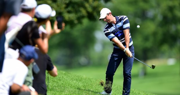Rory McIlroy cards 65 in strong start to playoffs in New Jersey