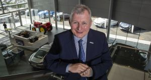 Gavin Hydes, chief executive of Joe Duffy Motors Group: Used vehicle sales at the group were up 5 per cent to €131 million. Photograph: Crispin Rodwell