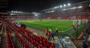 Anfield hosts the first Premier League match of the new season tonight. Photograph: Getty Images