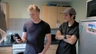 Gordon Ramsay's son visits his father's council flat