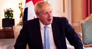 British prime minister Boris Johnson: By the time of the Brexit referendum in 2016, the Anglosphere had established itself in right-wing mythology as the promised land. Photograph: Will Oliver/EPA