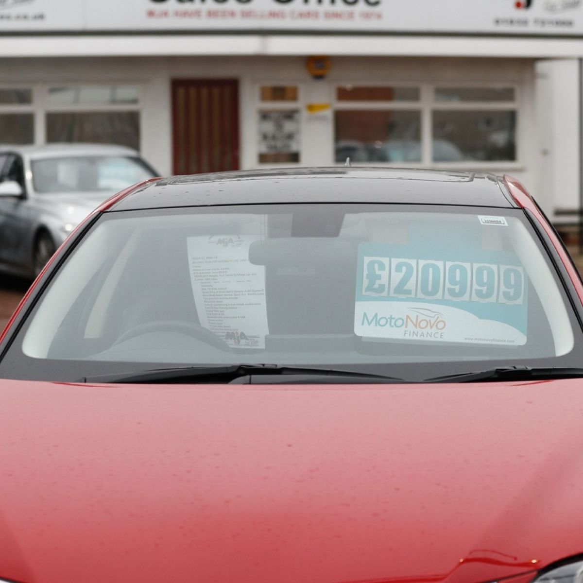 New car sales stuck in second gear as rate of used UK imports