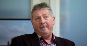 Sammy Wilson, the DUP MP for East Antrim, said he was 'not particularly' concerned about the trend of declining British passports and increasing Irish passports. Photograph: Liam McBurney