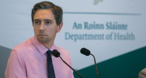 Minister for Health Simon Harris has said  he believes the two-tier pay system for consultants is unfair and needs to be rectified. Photograph: Gareth Chaney/ Collins