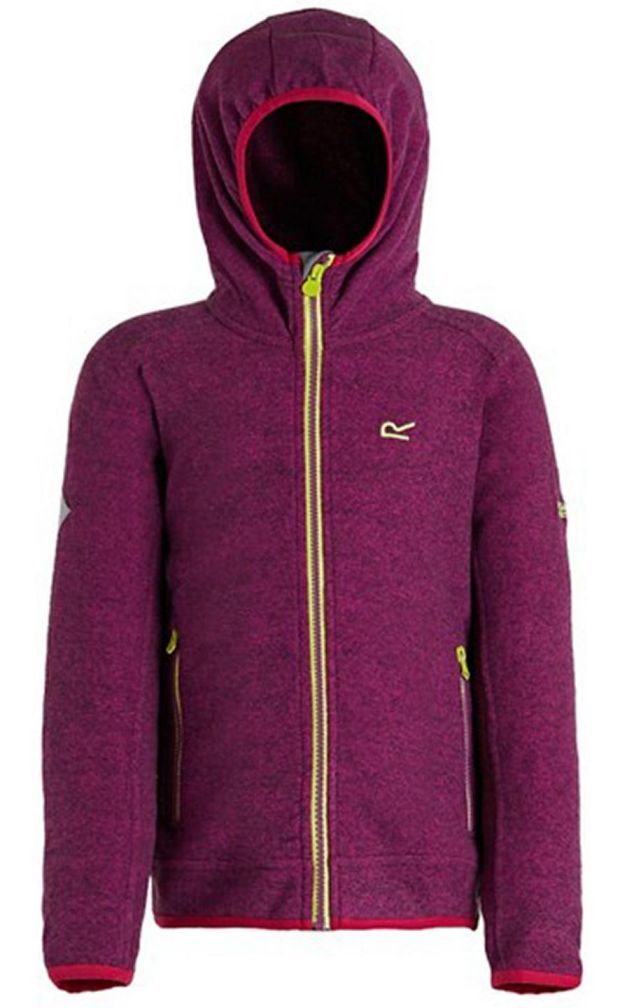Purple Totten kids hooded fleece,€28, Debenhams.