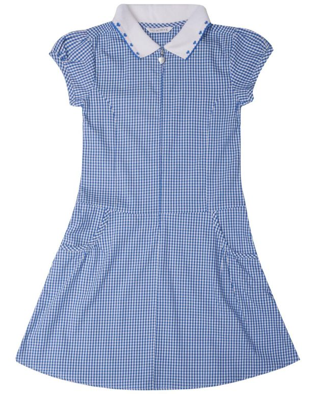 Marks & Spencer: easy-iron gingham dress, €12-€16