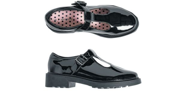 Marks & Spencer: patent-leather T-bar shoes €49