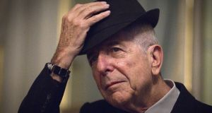 Canadian singer and poet Leonard Cohen:  Leonard's music and words were ideal for these subjects – his work is littered with religious and spiritual imagery; with hope and sanguinity, and yet it's also strewn with doubt, human weakness and uncertainty. Photograph: Joel Saget/AFP/Getty Images