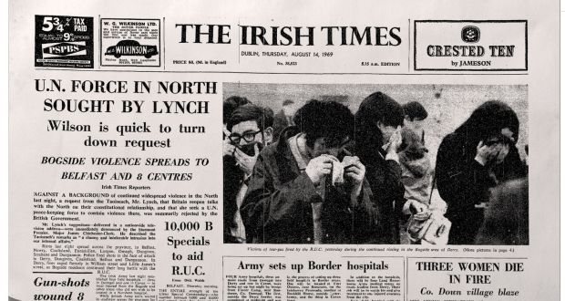 On this day 50 years ago: Solidarity with Bogside spreads across Ireland