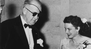 John Ford and Maureen O'Hara  circa 1955: director's feelings for the actress are evident in a letter soon to be auctioned.  Photograph: Hulton Archive/Getty Images
