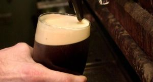 Increasing duty on a pint by 10 cent would collect a further €68 million a year, according to  Revenue estimates. Photograph: Dara MacDonaill/The Irish Times